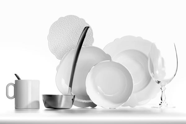 Kuhmen.ru Посуда и столовые приборы вышедшие из под руки дизайнера Marcel Wanders и созданные им специально для фирмы Alessi.