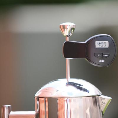 Kuhmen.ru Оказывается существуют специальные таймеры для кофеварок френч-пресс