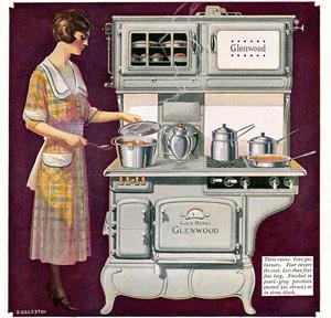 Kuhmen.ru - старинная реклама кухонных принадлежностей