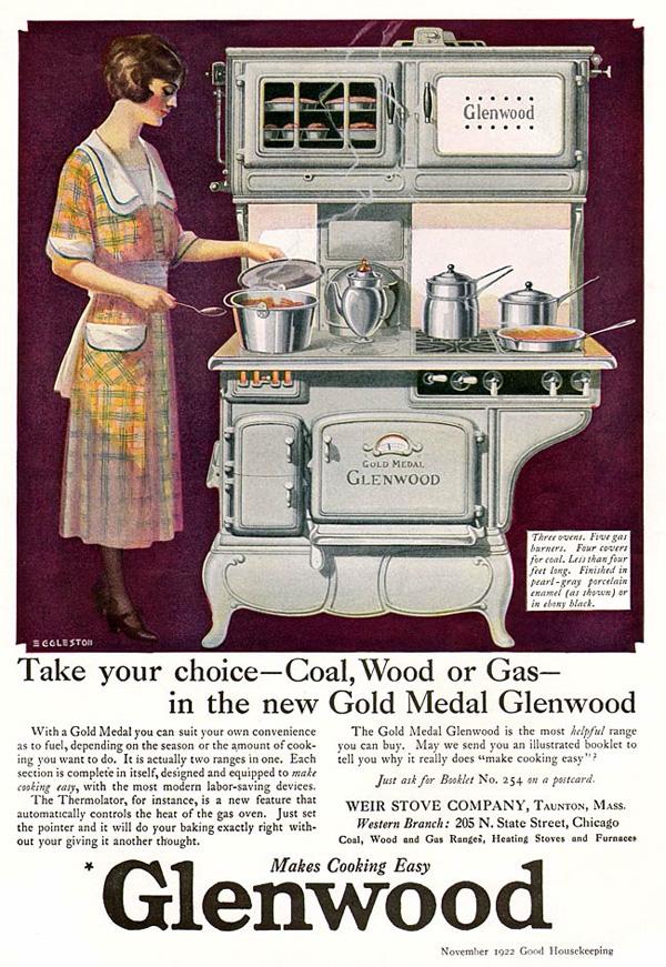 Kuhmen.ru - старинная реклама кухонных принадлежностей. 1922 год