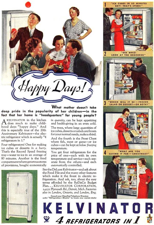 Kuhmen.ru - старинная реклама кухонных принадлежностей. 1934 год