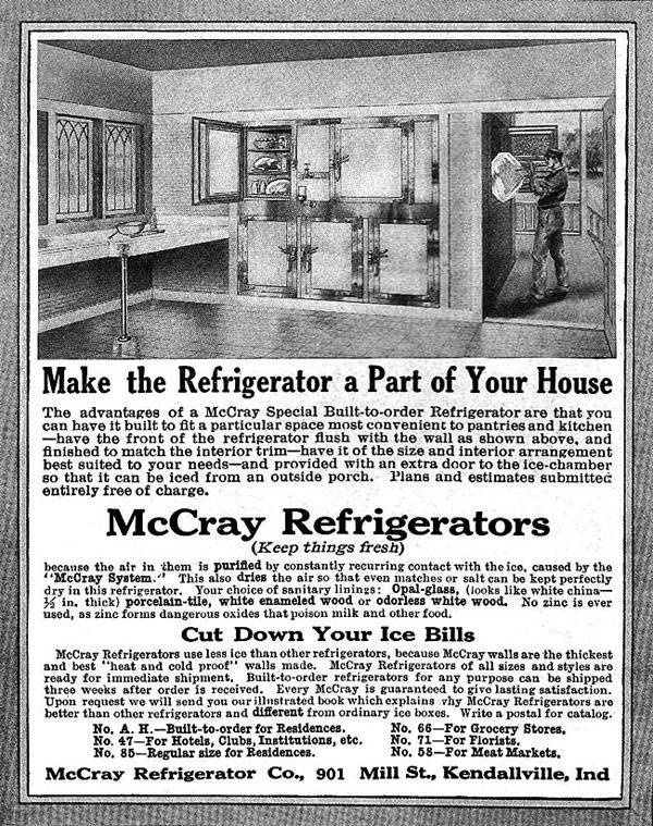 Kuhmen.ru - старинная реклама кухонных принадлежностей. 1909 год
